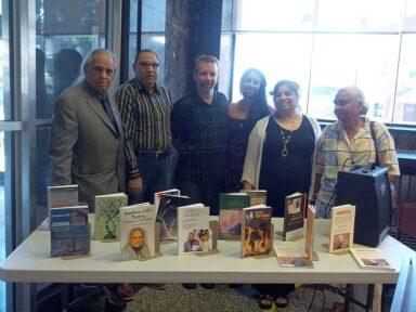 (left) Stephen Gill, Abid, Mike VanDyke, Sarita VanDyke, Monika Spolia, Sarla Gill
