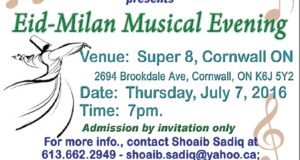 Eid-Milan Musical Evening By Adbi Chehra, Cornwall