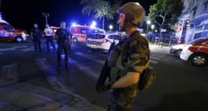 Terrorist Attack in Nice, France on July 14, 2016