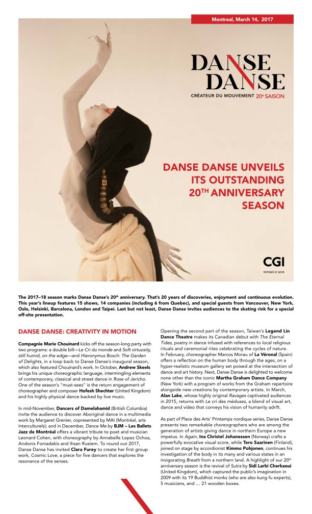 2017 - 18 Danse Danse Season (1 of 3)