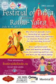 Ratha-Yatra and Festival of India