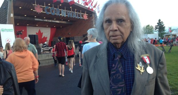 Stephen Gill honored at Canada's 150th Anniversary