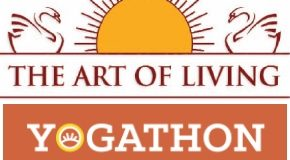 Yogathon - The Art of Living - Rise for a Cause