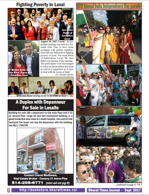 Bharat Times Journal September 2017 page 2