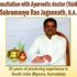 Consultation with Ayurvedic Dr. Subramanya Rao Jagannath in Montreal