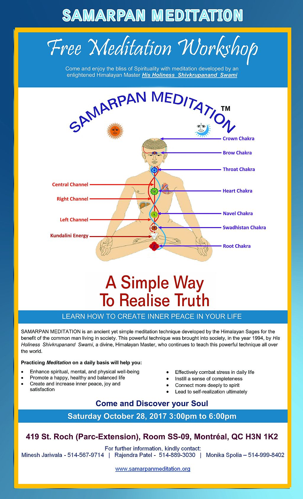 Samarpan Meditation Workshop