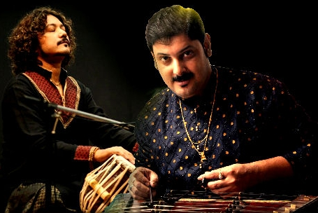 Santoor player Sandip Chatterjee & Tabla maestro Subhajyoti Guha