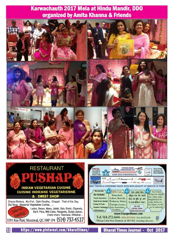 Bharat Times Journal October 2017 p.11