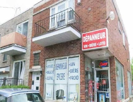 Duplex with Depanneur For Sale - Contact Chand Wadhwani at 514-295-6771