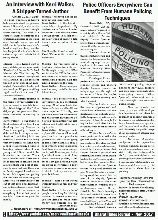 Bharat Times November 2017 - page 5
