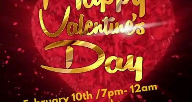 Valentines/Friendship dinner dance on Saturday, February 10, 2018 at 7pm