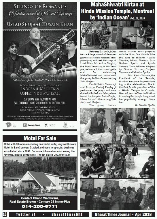 Bharat Times April 2018 - pg 10