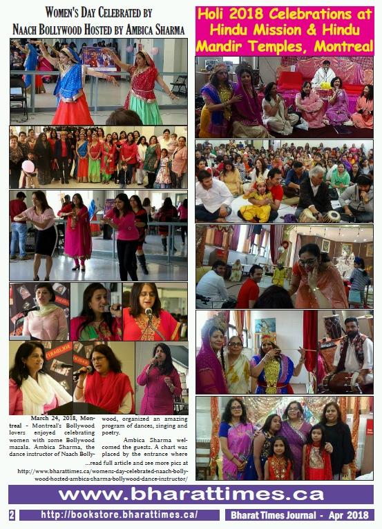 Bharat Times April 2018 - pg 2