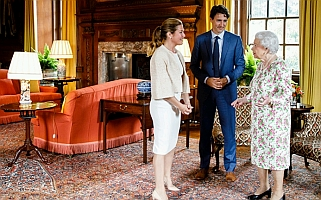 Canada PM Justin Trudeau Congratulates Her Majesty Queen Elizabeth II, Queen of Canada on her 92nd birthday