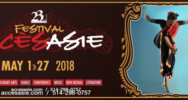 FESTIVAL ACCÈS ASIE 23rd edition From May 1st to 27th, 2018