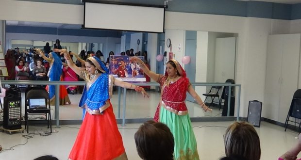 Ambica Sharma (Dance Instructor at Naach Bollywood) with her student, Ipsita
