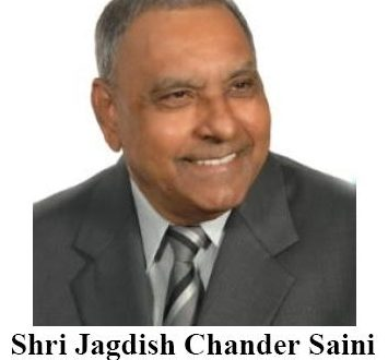 Shri Jagdish Chander Saini - (1949 - 2018)