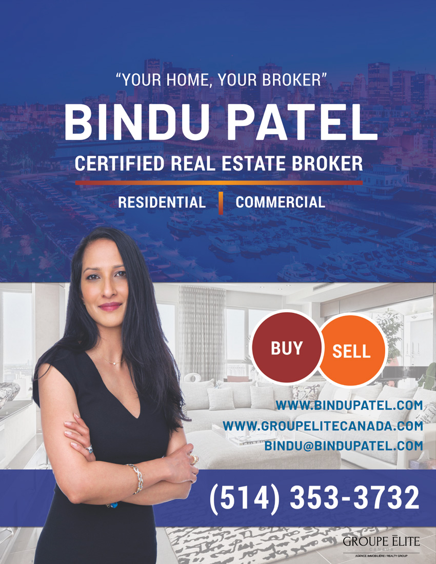 Bindu Patel - A Certified Real Estate Broker