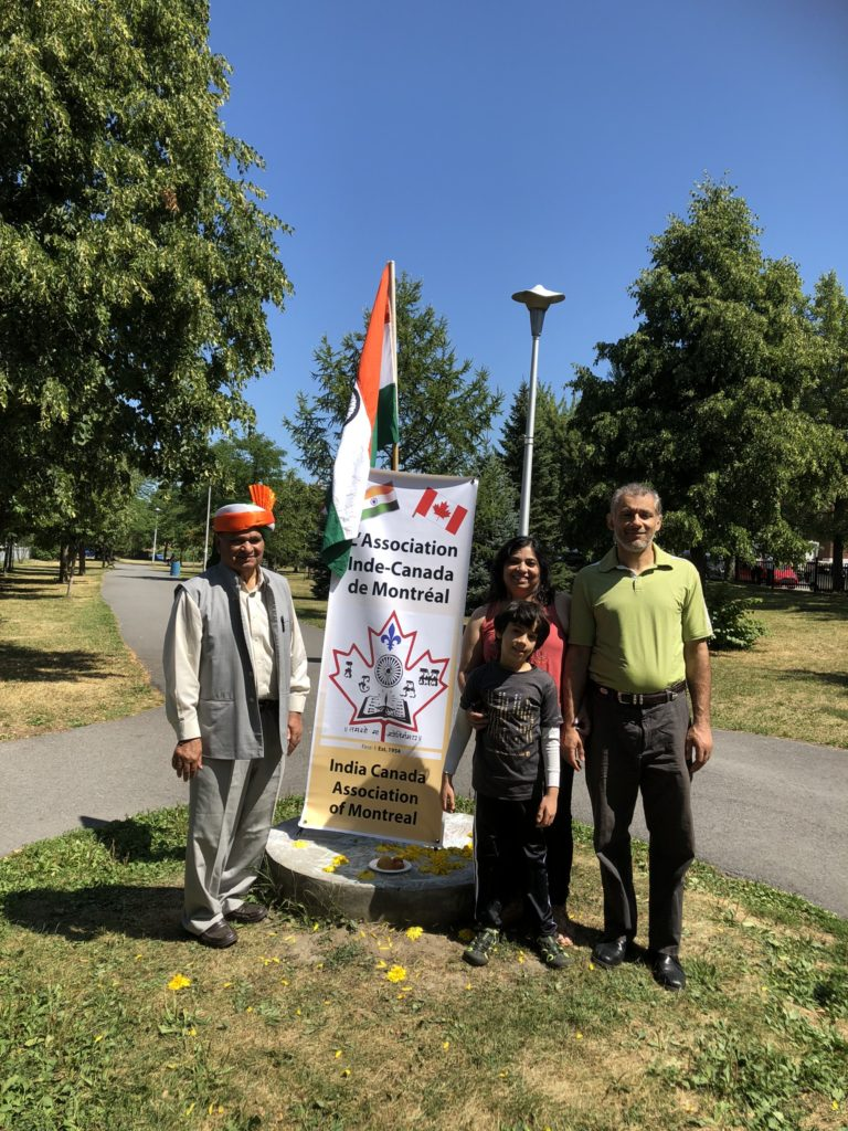 India Day Celebrations at Mahatma Gandhi Park in Montreal
