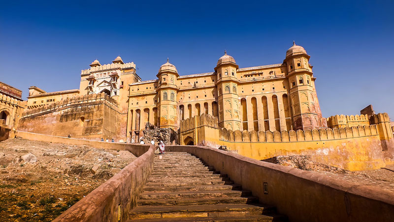 Amber fort, Photo by PIVISO, Public Domain - 5 Day Travel to Rajasthan – The Noteworthy Land of Kings in India by Rohit Agarwal