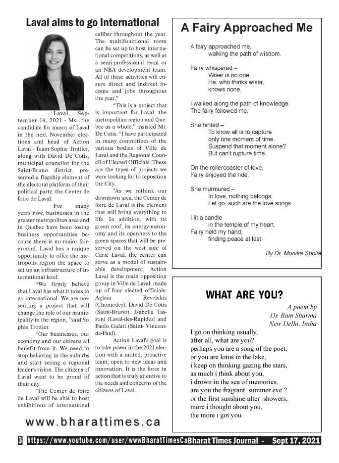 Bharat Times Journal - September 2021 - pg 3