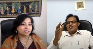 A spectacular session on Education Pe Charcha with Dr Monika Spolia - Hosted by Vivekanand Jha, a renowned author